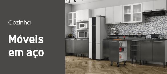 Cozinha - Móveis em Aço