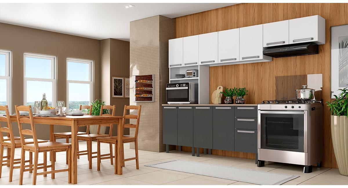 Cozinha Completa Colormaq Verona 4 Peças em Aço