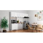 Cozinha Colormaq Titanium 3 Peças em Aço Branco