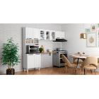 Cozinha Colormaq Titanium 3 Peças em Aço e Vidro