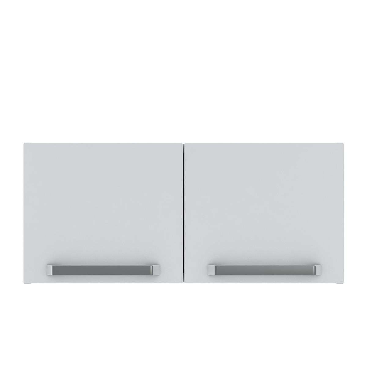 Armário de Cozinha Aéreo Colormaq Verona 2 Portas 35,2x80cm em Aço
