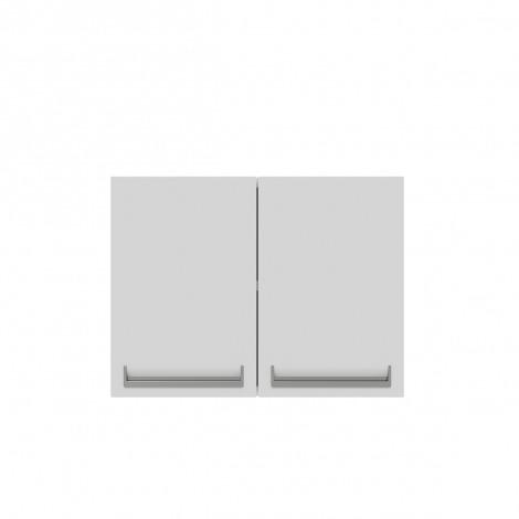 Armário de Cozinha Aéreo Colormaq Roma 2 Portas 52,5x70cm em Aço