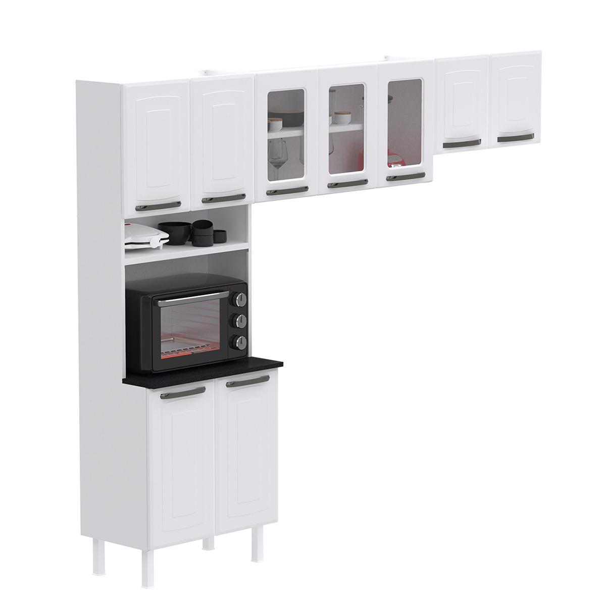 Cozinha Compacta Colormaq Titanium 3 Peças em Aço {{add_nome}}
