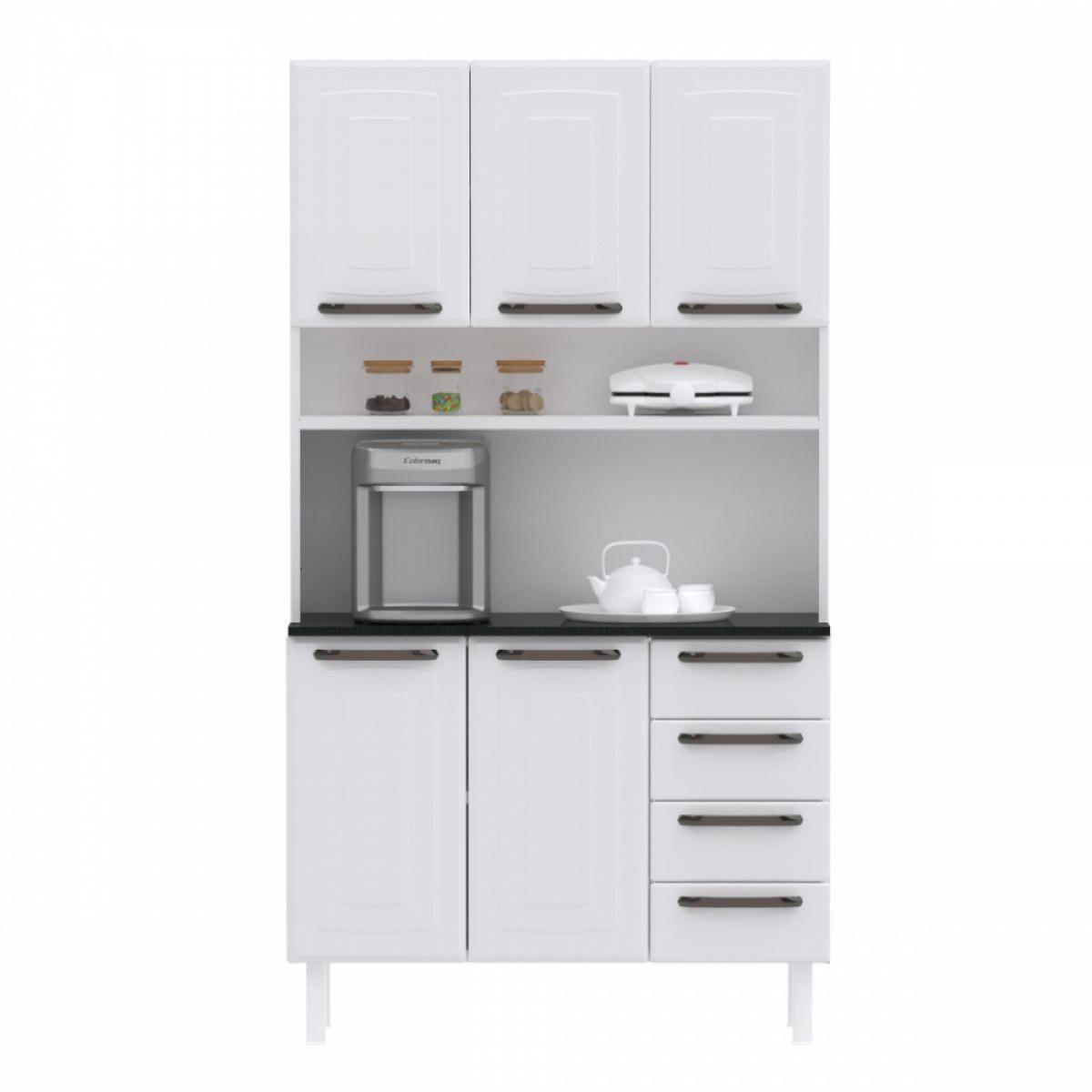 Kit de Cozinha Colormaq Titanium 5 Portas, 4 Gavetas em Aço {{add_nome}}
