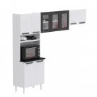 Cozinha Compacta Colormaq Titanium 3 Peças em Aço