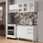 Cozinha Completa Colormaq Roma 3 Peças em Aço vista ambientada